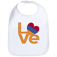 Armenian LOVE Bib