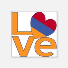 Armenian LOVE Sticker