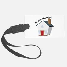 House Warming Luggage Tag