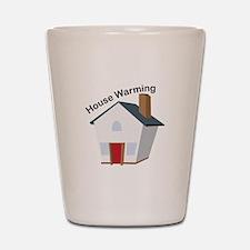 House Warming Shot Glass