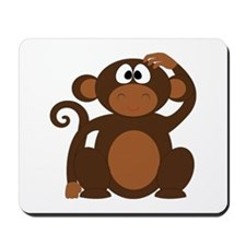 Cute Cheeky Monkey Mousepad