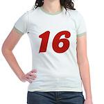 Kissable 16 Jr. Ringer T-Shirt