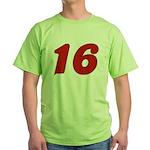 Kissable 16 Green T-Shirt