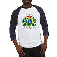 San Marino Coat of Arms Baseball Jersey