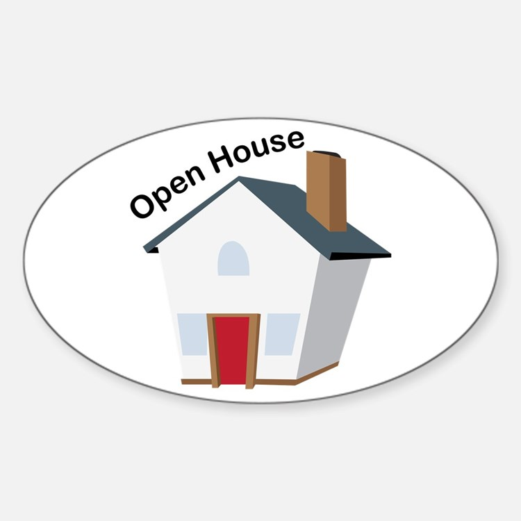 Open House Decal
