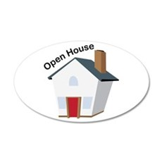 Open House Wall Decal