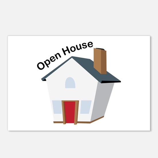 Open House Postcards (Package of 8)