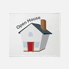 Open House Throw Blanket
