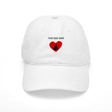Sail Boat Heart (Custom) Baseball Baseball Cap