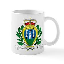 San Marino Coat of Arms Small Mug