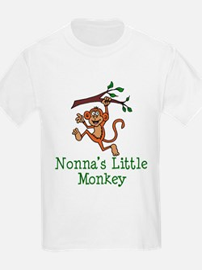 Nonna's Little Monkey T-Shirt