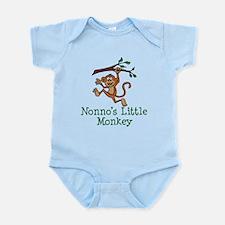 Nonno's Little Monkey Body Suit