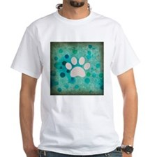 Blue Paw Dot Shirt