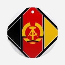 Emblem of aircraft of NVA Ornament (Round)