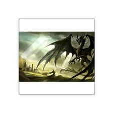 Great Black Dragon Sticker