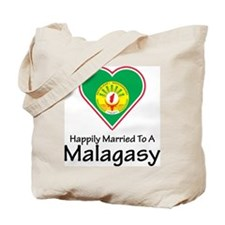 Happily Married Malagasy Tote Bag