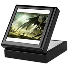 Great Black Dragon Keepsake Box