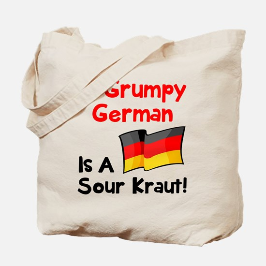 Grumpy German Tote Bag