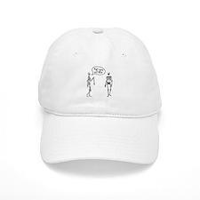 Skeletons I've got your back Baseball Cap