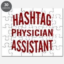 Hashtag Physician Assistant Puzzle