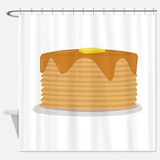 Pancake Stack Shower Curtain