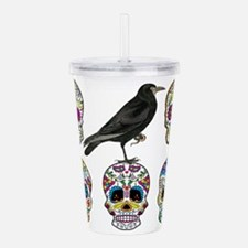 Sugar Skull By Design Acrylic Double-wall Tumbler