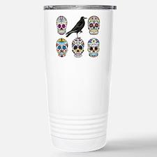 Sugar Skull By Design W Travel Mug