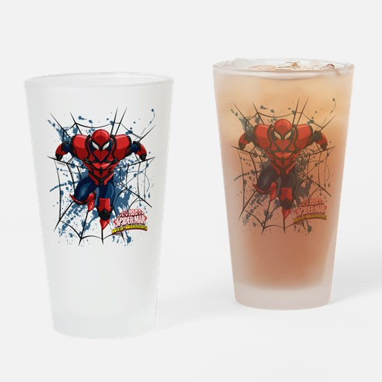 Spyder Knight Web Drinking Glass