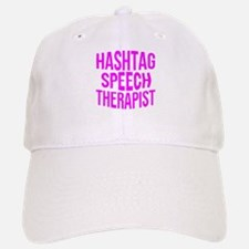 Hashtag Speech Therapist Baseball Baseball Cap