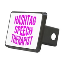 Hashtag Speech Therapist Hitch Cover