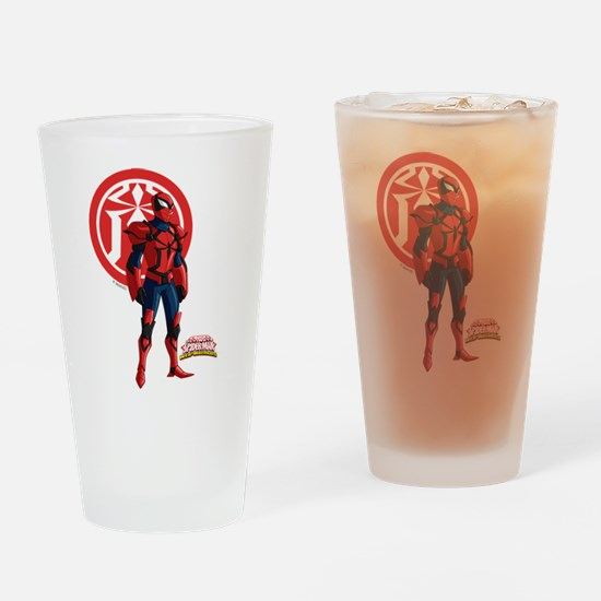 Spyder Knight Standing Drinking Glass
