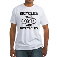 Bicycles are Nicecycles Shirt