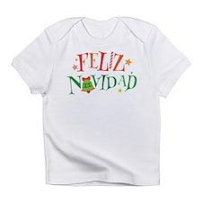 Feliz Navidad Christmas Infant T-Shirt