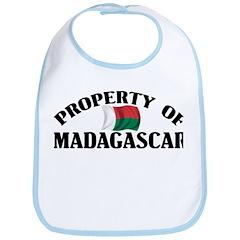Property Of Madagascar Bib