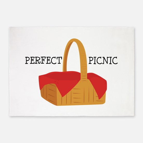 Perfect Picnic 5'x7'Area Rug