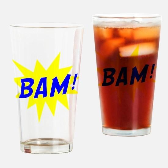 Bam! Drinking Glass