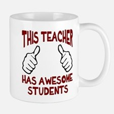 This teacher awesome students Mug
