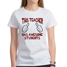 This teacher awesome students Tee
