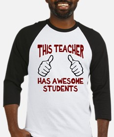 This teacher awesome students Baseball Jersey