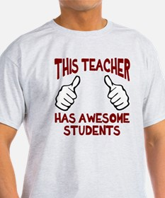 This teacher awesome students T-Shirt