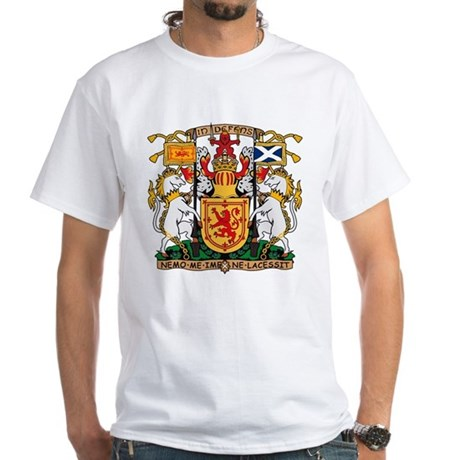 Scotland Coat of Arms White T-Shirt