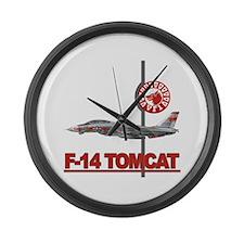 vf14Newlogo copy.png Large Wall Clock
