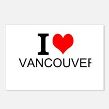 I Love Vancouver Postcards (Package of 8)