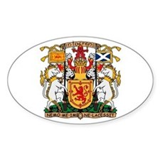 Scotland Coat of Arms Oval Decal