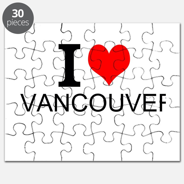 I Love Vancouver Puzzle