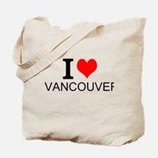 I Love Vancouver Tote Bag