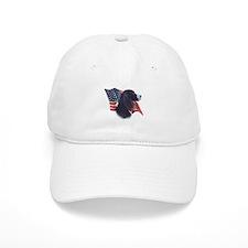 English Springer Flag Baseball Cap