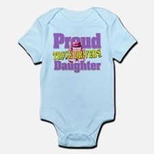 Proud Truck Drivers Daughter Body Suit