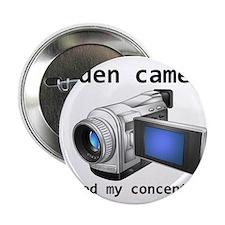 """hidden cams 2.25"""" Button (10 pack)"""