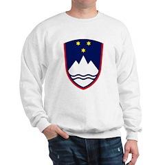 Slovenia Coat of Arms Sweatshirt